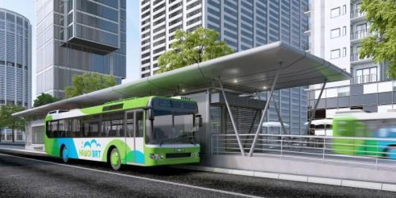 Chốt thời gian chạy thử tuyến buýt nhanh BRT
