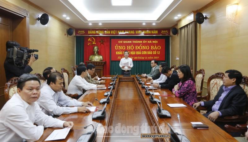 ha noi keu goi ung ho dong bao khac phuc hau qua bao so 12