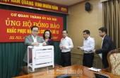 Hà Nội kêu gọi ủng hộ đồng bào khắc phục hậu quả bão số 12