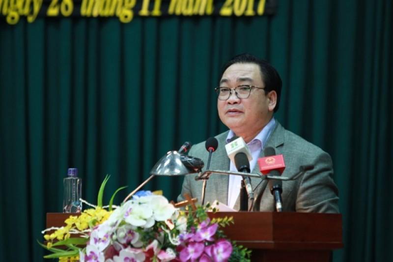 Đoàn đại biểu Quốc hội TP Hà Nội tiếp xúc cử tri huyện Đông Anh