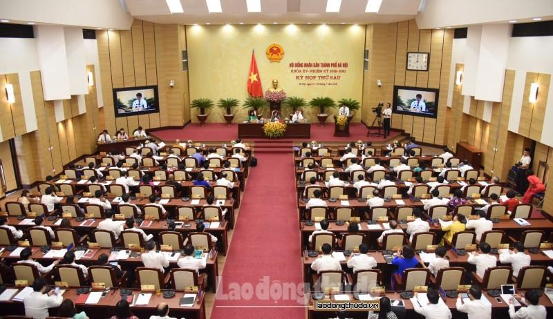 Hà Nội: Sẽ lấy phiếu tín nhiệm tại kỳ họp thứ 7 HĐND Thành phố
