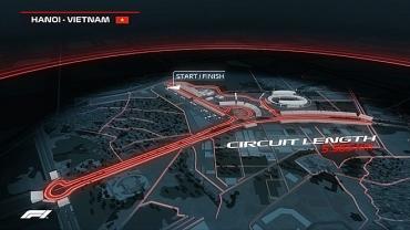 """Đường đua F1 ở Hà Nội """"độc nhất vô nhị"""""""