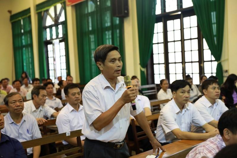 Cử tri kiến nghị đầu tư xây dựng thắng cảnh Hương Sơn