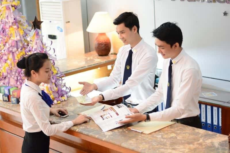 Các học viên tham gia chương trình đào tạo sẽ được thực tập tại các khách sạn lớn. (Ảnh: Minh Anh)
