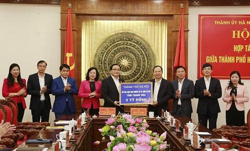 Hà Nội – Thanh Hóa: Tăng cường hợp tác 12 nhóm nội dung trọng tâm
