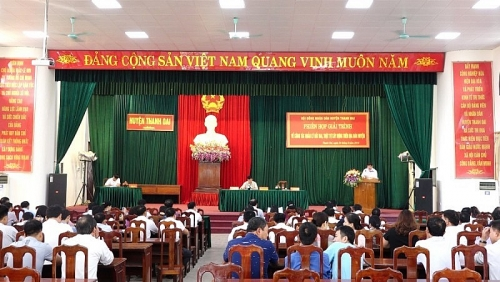 Huyện Thanh Oai sẽ báo cáo tình hình giải quyết đơn thư khiếu nại, tố cáo