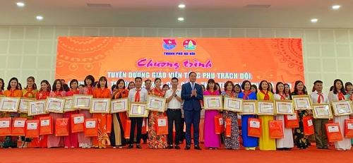Tuyên dương 180 giáo viên Tổng phụ trách Đội xuất sắc tiêu biểu Thủ đô