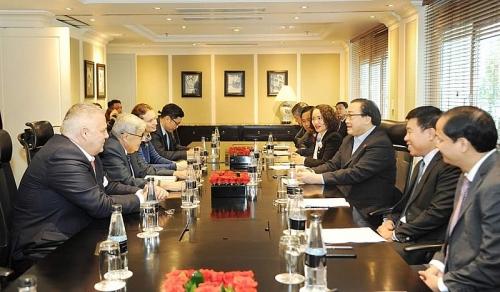 Bí thư Thành ủy Hà Nội tiếp Đoàn đại biểu Đảng Cộng sản Pháp