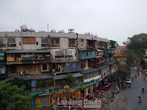 Hà Nội đang thẩm định đồ án quy hoạch chi tiết 5 chung cư cũ