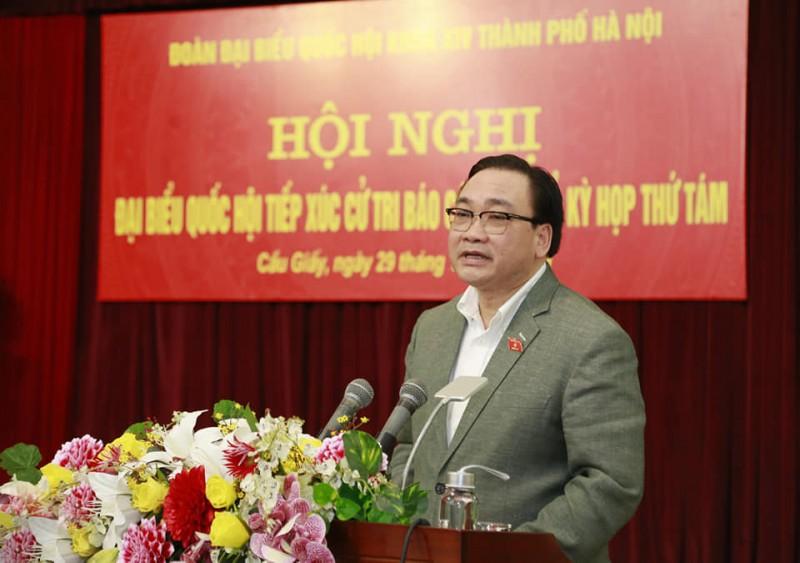 Bí thư Thành ủy Hà Nội: Mục tiêu là xây dựng hệ thống chính quyền gần dân hơn