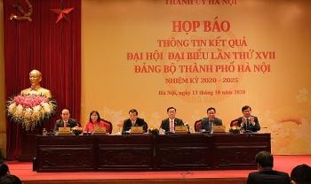 Phân công Trưởng Ban Chỉ đạo 10 chương trình công tác của Thành ủy Hà Nội khóa XVII