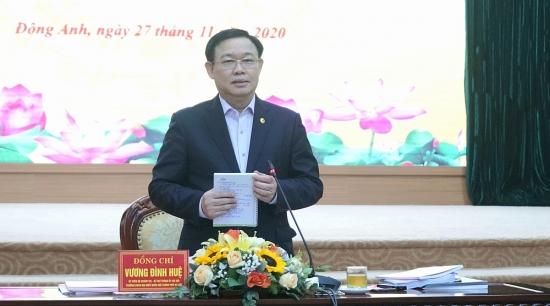 Bí thư Thành ủy Vương Đình Huệ: Tạo sự chủ động và động lực phát triển cho địa phương