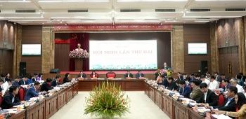 Ban Chấp hành Đảng bộ thành phố Hà Nội khóa XVII tổ chức Hội nghị lần thứ hai
