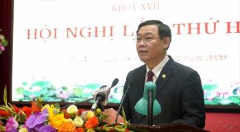 Bí thư Thành ủy Vương Đình Huệ: Vì sao trong khó khăn của dịch Covid-19 kinh tế Thủ đô vẫn tăng trưởng tích cực?