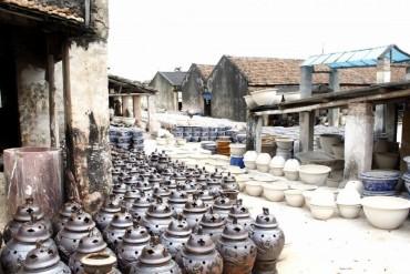 Thăm làng gốm Bát Tràng