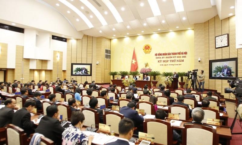 Bế mạc kỳ họp thứ 5 HĐND Thành phố khóa XV