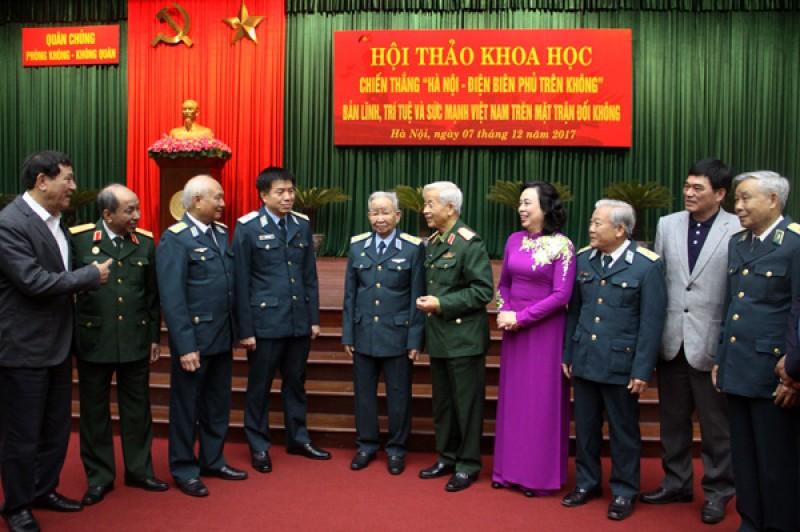 Khẳng định bản lĩnh, trí tuệ và sức mạnh Việt Nam trên mặt trận đối không
