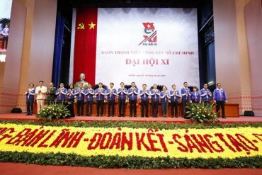 Khai mạc phiên trọng thể Đại hội Đoàn toàn quốc lần thứ XI