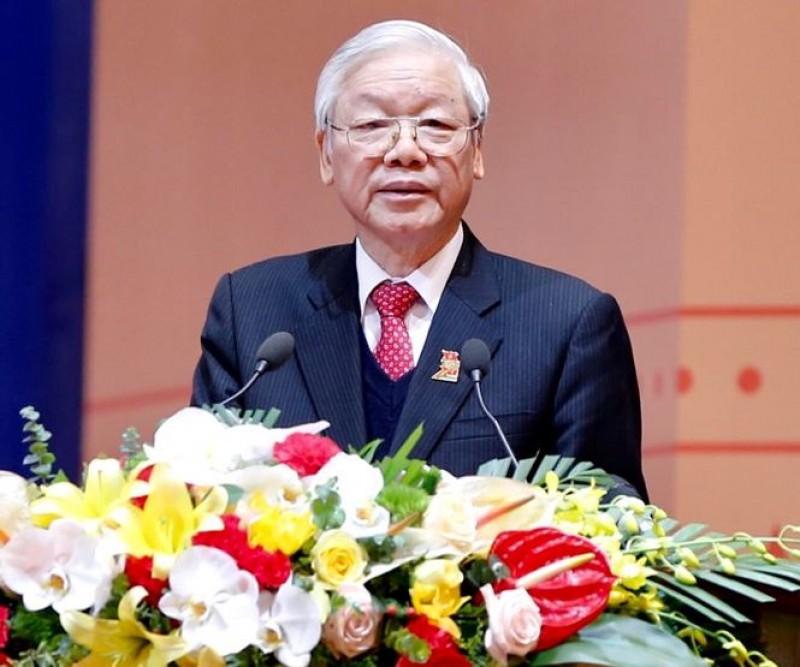 Tổng Bí thư Nguyễn Phú Trọng: Thanh niên phải là rường cột của nước nhà