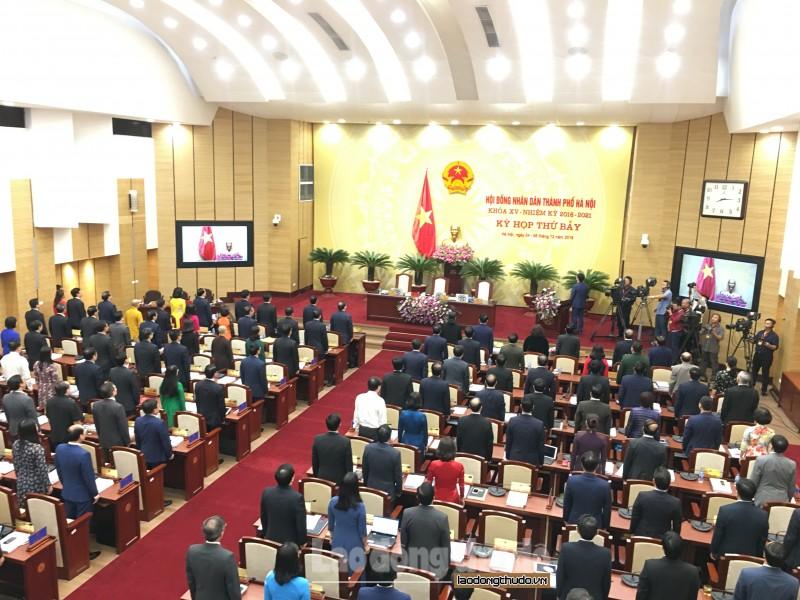 Khai mạc Kỳ họp thứ bảy, HĐND TP Hà Nội khóa XV