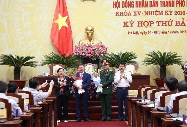HĐND Thành phố Hà Nội thông qua nội dung về nhân sự