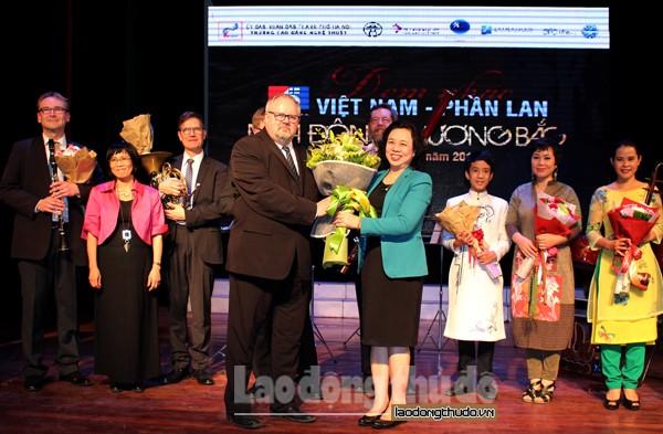 Giao lưu âm nhạc kỷ niệm quan hệ ngoại giao Việt Nam – Phần Lan