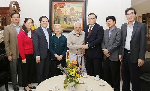 Nhà cách mạng có nhiều dấu ấn với Hà Nội