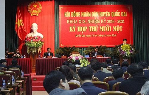 Huyện Quốc Oai tăng trưởng kinh tế đạt 11,79%