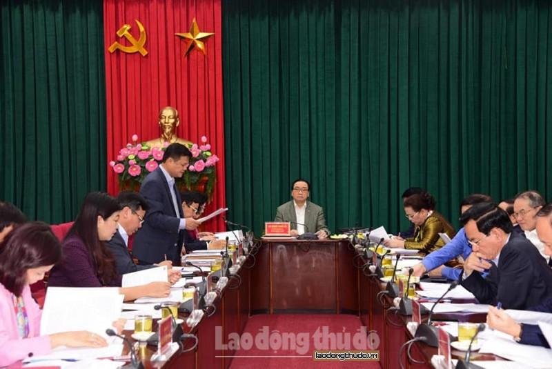 Thành uỷ Hà Nội kiểm điểm tập thể, cá nhân trong công tác lãnh đạo năm 2018