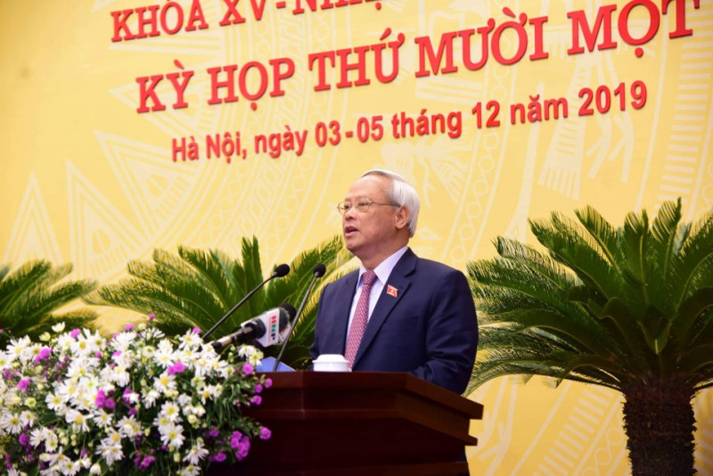 Hội đồng nhân dân thành phố Hà Nội đã thực hiện tốt các chức năng, nhiệm vụ