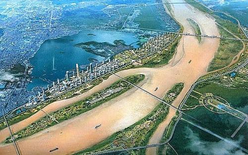 Hà Nội đã có quy hoạch phân khu 2 bên sông Hồng