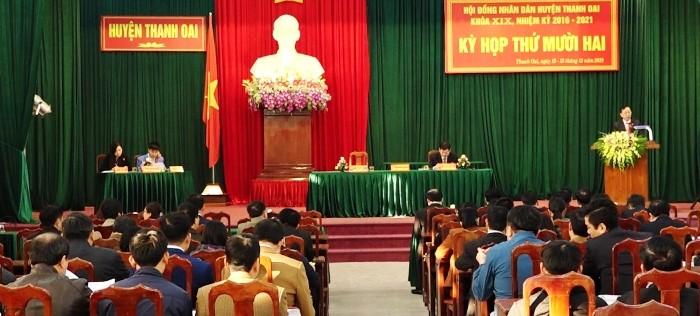 Huyện Thanh Oai: Phấn đấu năm 2020 không cò hộ nghèo