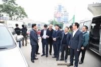 Hội đồng nhân dân thành phố Hà Nội khảo sát công tác phục vụ Tết