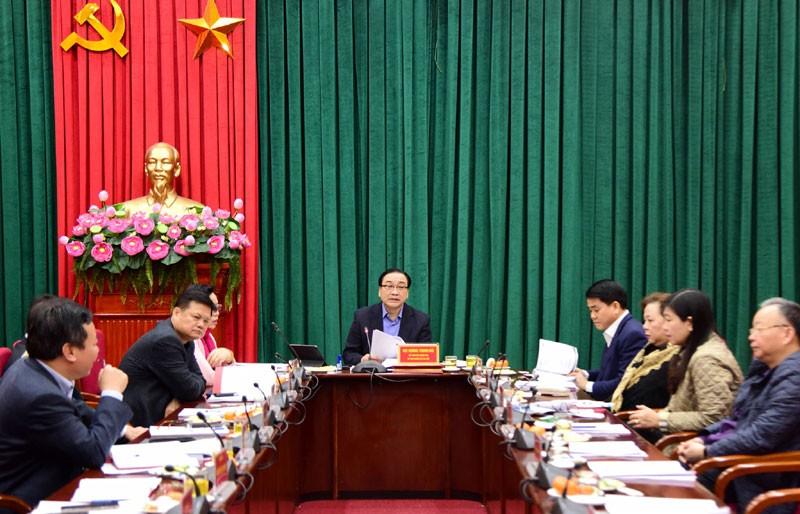 Hà Nội chuẩn bị tốt nhất về Văn kiện Đại hội Đảng bộ thành phố lần thứ XVII