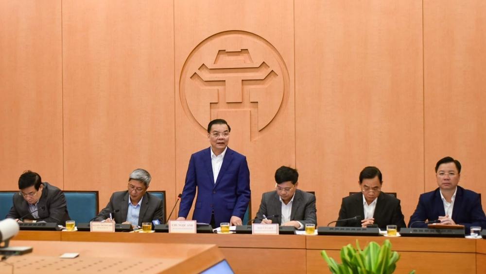 Chủ tịch UBND thành phố Hà Nội: Phải làm tốt việc phòng chống dịch Covid-19 từ mỗi hộ gia đình