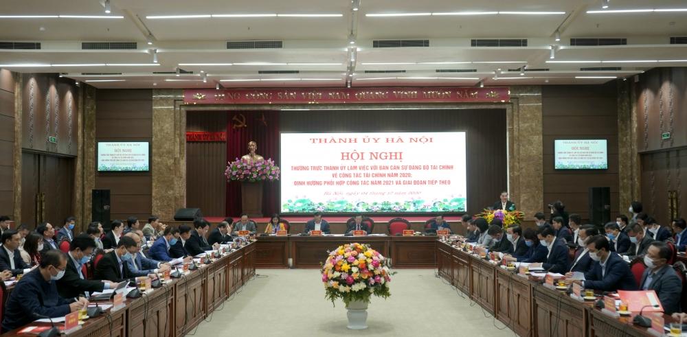 Hà Nội kiến nghị tháo gỡ 5 nhóm vấn đề thuộc lĩnh vực tài chính