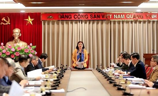 Phó Bí thư Thường trực Thành ủy Nguyễn Thị Tuyến chủ trì họp Ban Chỉ đạo Cải cách tư pháp
