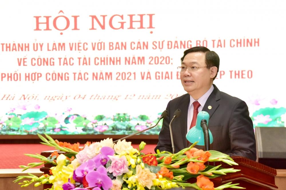 Tháo gỡ vướng mắc về cơ chế, chính sách để kinh tế Hà Nội phát triển có chiều sâu