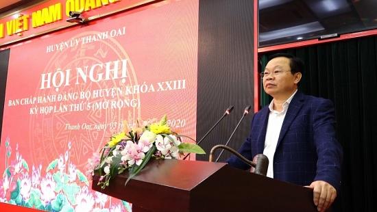 Trong bối cảnh Covid-19, thu nhập bình quân đầu người của huyện Thanh Oai vẫn tăng