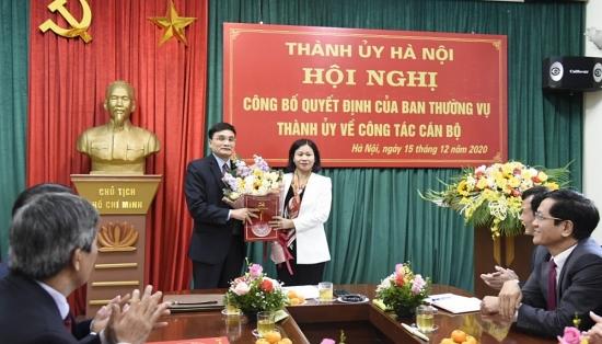 Đồng chí Nguyễn Trường Sơn làm Bí thư Đảng ủy Khối doanh nghiệp Hà Nội