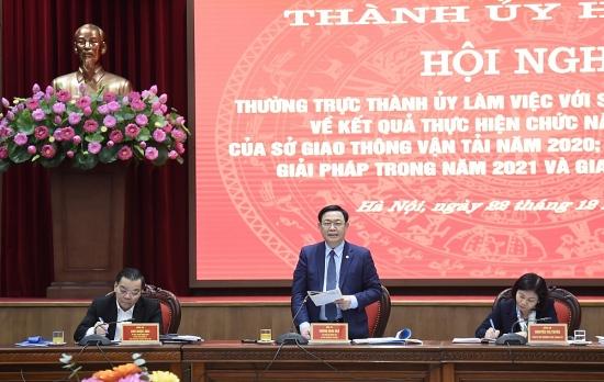 Bí thư Thành ủy Hà Nội Vương Đình Huệ: Xây dựng mỗi con đường phải trở thành trục phát triển kinh tế - đô thị