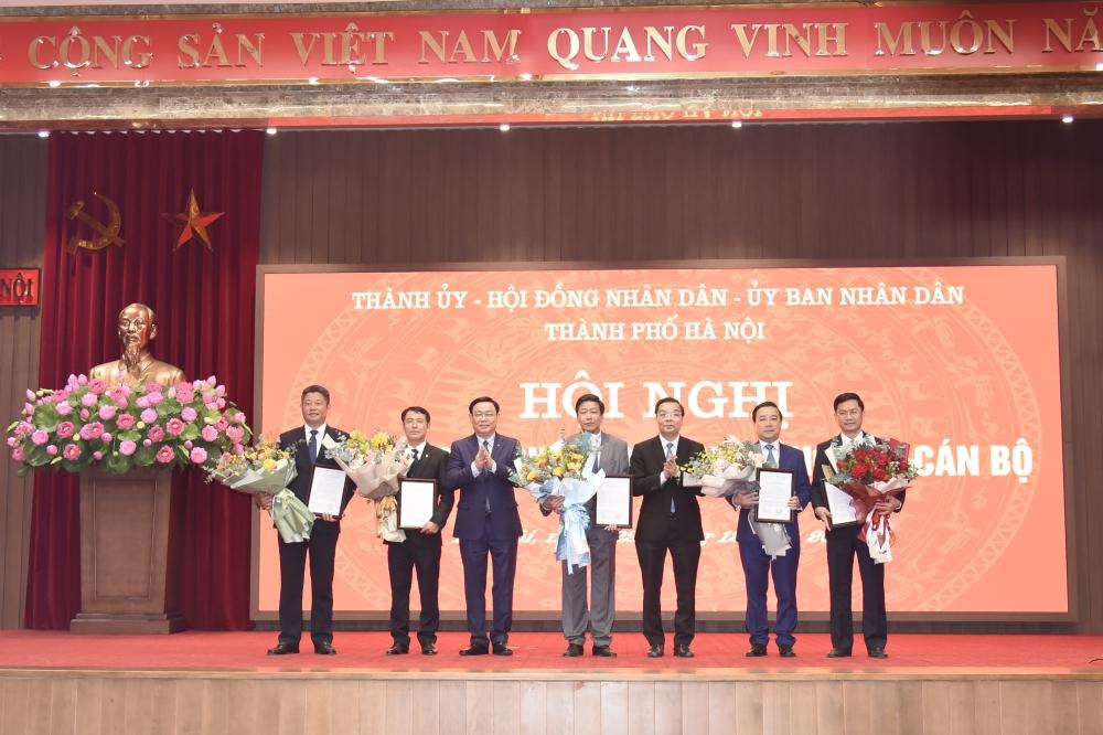 Hà Nội: Công bố các quyết định của Thủ tướng Chính phủ về công tác cán bộ