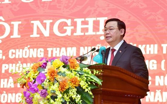 Hà Nội tổng kết công tác phòng, chống tham nhũng