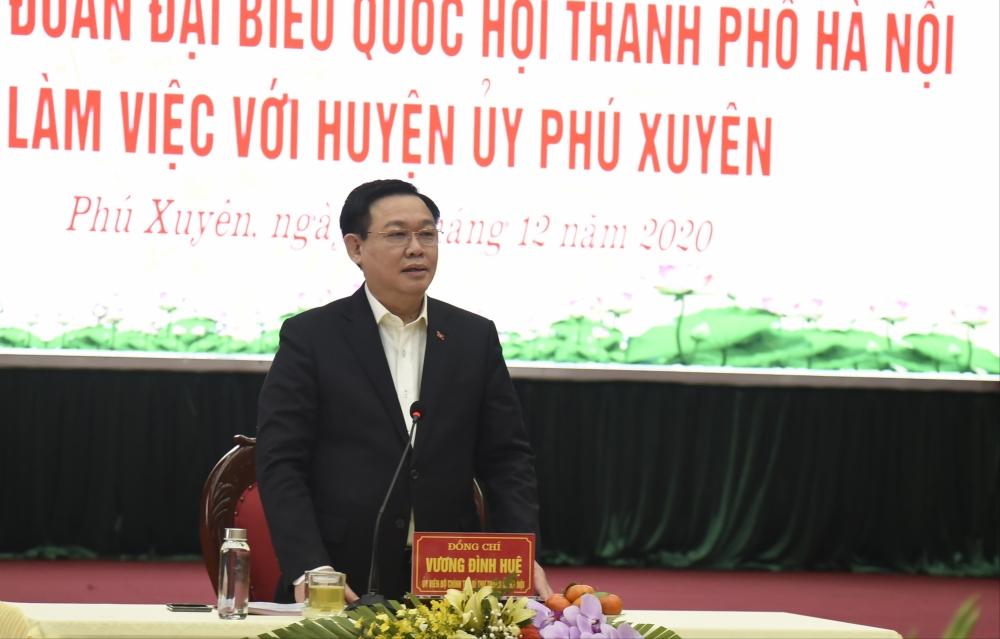 Bí thư Thành ủy Vương Đình Huệ: Đẩy nhanh tiến độ các dự án đường trục phía Nam