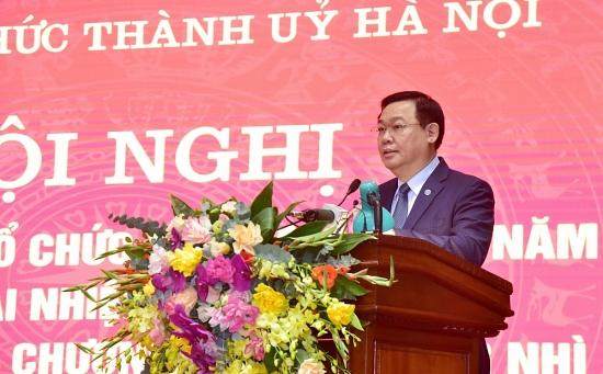 Bí thư Thành ủy Vương Đình Huệ: Chí công, vô tư trong công tác tổ chức cán bộ