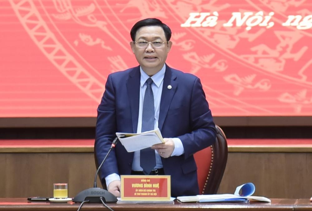 Đồng chí Vương Đình Huệ làm Trưởng ban Chỉ đạo bầu cử thành phố Hà Nội