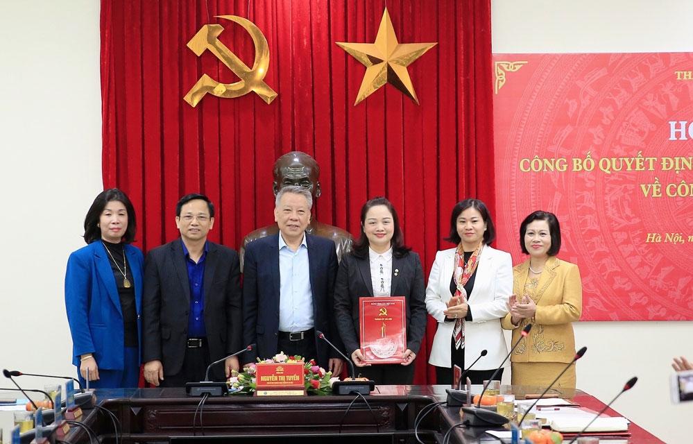Hà Nội: Điều động Phó Giám đốc Sở Văn hóa làm Bí thư Huyện ủy Ứng Hòa