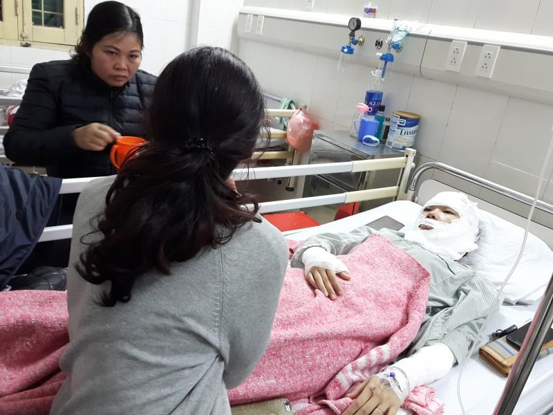 Thêm một vụ bỏng do nổ bóng bay ở Hà Nội