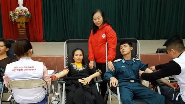 Đẩy mạnh công tác hiến máu nhân đạo
