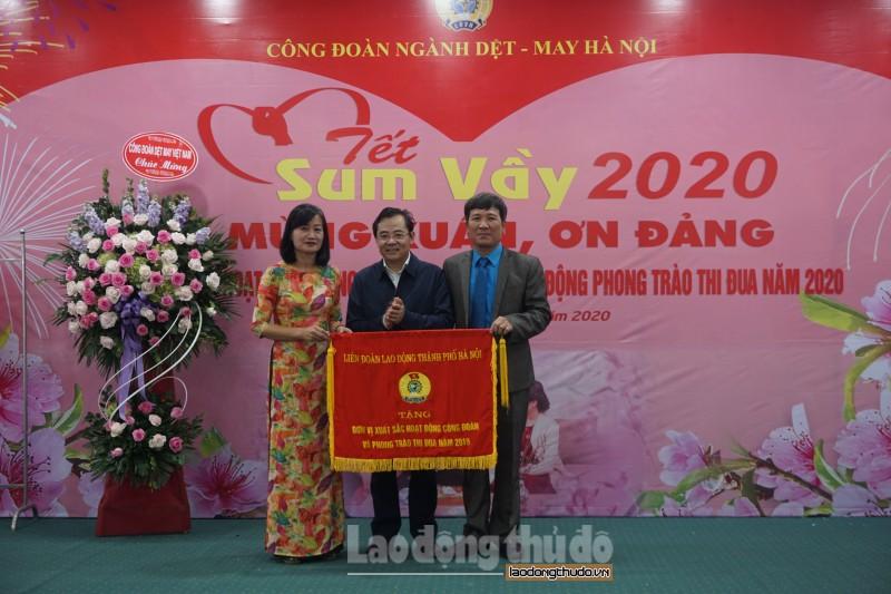 cong doan nganh det may ha noi nang cao loi ich cho doan vien va nguoi lao dong